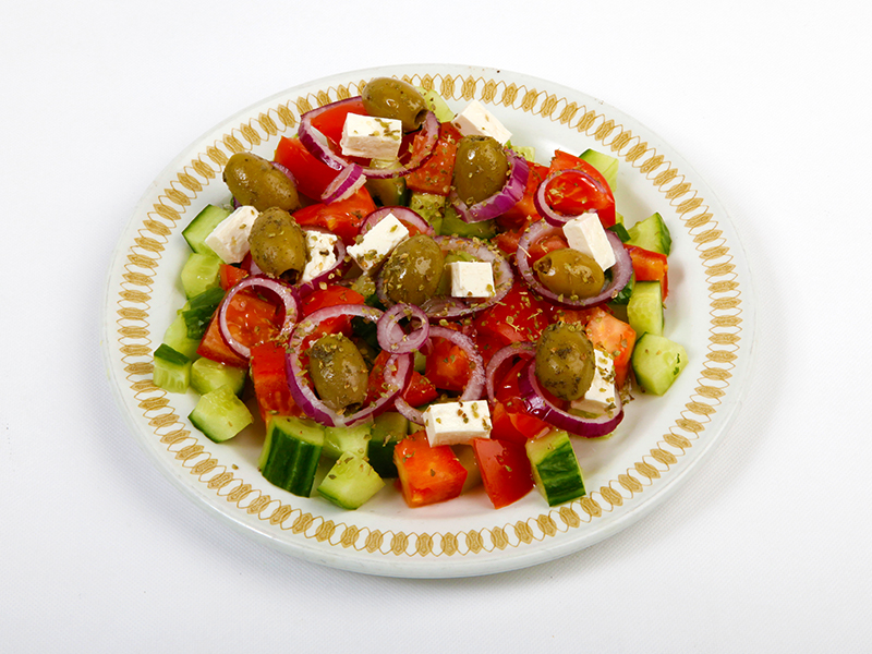 Salad-E-Yunani (Greek Salad) (V) (A)
